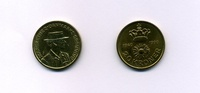 20 Kroner 1990 Dänemark -Margrethe II.- Bankfrisch  3,95 EUR