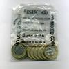 10 x 1 Pound 1998 JERSEY -ORIGINAL VERPACKUNG- Bankfrisch  60,00 EUR  +  6,50 EUR shipping