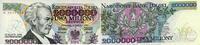 2 Million Zlotych 14.8.1992 Polen P.158b unc/kassenfrisch  79,50 EUR