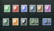 1934 DEUTSCHES REICH -Mi.Nr.529-539 Luftpost 1934- postfrisch  179,00 EUR
