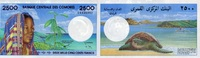 2.500 FRANCS (1997) BANQUE CENTRALE DES COMORES P.13 unc/kassenfrisch  110,00 EUR