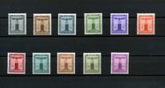 11 Werte 1942/44 Deutsches Reich.(Dienstmarken) - 2.März.Dienstmarken d... 17,00 EUR  +  6,50 EUR shipping