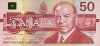 50 Dollars 1988 Canada P.98a unc/kassenfrisch  118,00 EUR  +  6,50 EUR shipping