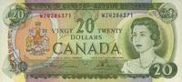 20 Dollars 1969 Canada P.89b unc/kassenfrisch  112,00 EUR  +  6,50 EUR shipping