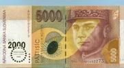 5.000 Korun 03.4.1995 Slovakia P.40 unc/kassenfrisch  450,00 EUR  +  6,50 EUR shipping
