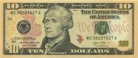 10 Dollars Serie 2013 USA P.539-D unc/kassenfrisch  20,00 EUR  +  6,50 EUR shipping