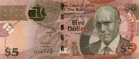 5 Dollars Serie 2013 Bahamas P.72b/2013 unc/kassenfrisch  15,00 EUR  +  6,50 EUR shipping