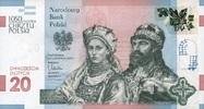 20 Zlotych 23.11.2015 Polen-Gedenkausgabe- - 1050 JAHRE CHRISTIANISIERU... 36,00 EUR  +  6,50 EUR shipping