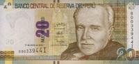 20 Nuevos Soles 17.1.2013 Peru P.183b/2013 unc/kassenfrisch  14,00 EUR  +  6,50 EUR shipping