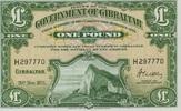 1 Pound 20.11.1971 Gibraltar P.18b unc/kassenfrisch  100,00 EUR  +  6,50 EUR shipping