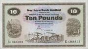 10 Pounds 01.3.1981 Nord-Irland P.189d unc/kassenfrisch  280,00 EUR  +  6,50 EUR shipping