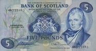 5 Pounds 01.12.1975 BANK OF SCOTLAND P.112c/1975 unc/kassenfrisch  120,00 EUR  +  6,50 EUR shipping