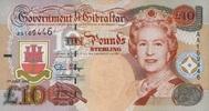 10 Pounds 01.7.1995 Gibraltar P.26a unc/kassenfrisch  36,00 EUR  +  6,50 EUR shipping