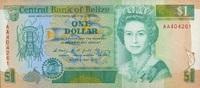 1 Dollar 01.5.1990 Belize P.51 unc/kassenfrisch  15,00 EUR  +  6,50 EUR shipping