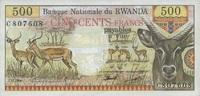 500 Francs 01.1.1978 Rwanda P.13a unc/kassenfrisch  80,00 EUR  +  6,50 EUR shipping