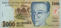 1.000 Cruzeiros Reais (1993) Brasilien P.240a unc/kassenfrisch  4,20 EUR  +  6,50 EUR shipping