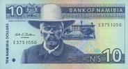 10 Namibia Dollars (1999) Namibia P.1a unc/kassenfrisch  11,00 EUR  +  6,50 EUR shipping
