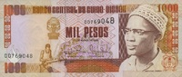 1.000 Pesos 01.3.1993 Guinea-Bisssu P.13b unc/kassenfrisch  2,50 EUR  +  6,50 EUR shipping