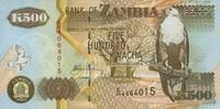 500 Kwacha 2003 Zambia P.42b unc/kassenfrisch  1,50 EUR  +  6,50 EUR shipping