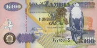 100 Kwacha 2003 Zambia P.38d unc/kassenfrisch  1,00 EUR  +  6,50 EUR shipping