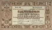 1 Gulden 01.10.1938 Niederlande P.61 1-  12,00 EUR  +  6,50 EUR shipping