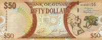 50 Dollars (2016) Guyana P.41 - New Design - 2016 - unc/kassenfrisch  1,20 EUR  +  6,50 EUR shipping