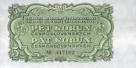 5 Korun 1953 Tschechoslowakei P.80b unc/kassenfrisch  6,00 EUR  +  6,50 EUR shipping