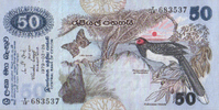 50 Rupees  Sri-Lanka P.87 unc  93,00 EUR