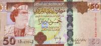 50 Dinars 2008 Libyen Pick 75 unc  63,00 EUR  +  6,50 EUR shipping