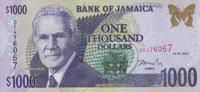 1.000 Dollars  Jamaica Pick 86a unc/kassenfrisch  27,00 EUR  +  6,50 EUR shipping