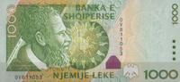 1.000 Leke 2001 Albanien Pick 69 unc/kassenfrisch  19,00 EUR  +  6,50 EUR shipping