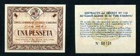 1 Pesseta 19.12.1936 Andorra  unc/kassenfrisch  575,00 EUR