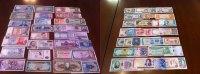 Banknoten aus aller Welt  unc  65,00 EUR