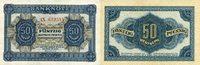 50 DEUTSCHE PFENNIG 1948 DEUTSCHE NOTENBANK 1948-1964 -2 Buchstaben Ser... 60,00 EUR