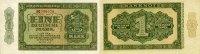 1 DEUTSCHE MARK 1948 DEUTSCHE NOTENBANK 1948-1964 -2 Buchstaben Serie B... 60,00 EUR