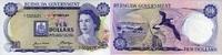 10 Dollars 06.2.1970 BERMUDA P.25a unc/kassenfrisch  115,00 EUR  +  6,50 EUR shipping