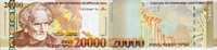 20.000 Drams 2009 Armenien P.53 unc/kassenfrisch  90,00 EUR  +  6,50 EUR shipping