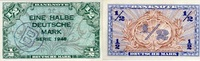 1/2 Mark 1948 Bank Deutscher Länder Ros.231a - B-Stempel - unc/kassenfr... 190,00 EUR  +  6,50 EUR shipping