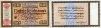 50 REICHSMARK 28.8.1933 Wertpapiere / Steuergutscheine - KONVERSIONSKAS... 120,00 EUR  +  6,50 EUR shipping