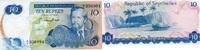 10 Rupees ND(1976) SEYCHELLEN P.19 unc/kassenfrisch  52,00 EUR