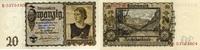 20 Reichsmark 16.6.1939 Deutsche Reichsbank 1924-1945 - Österreicherin ... 40,00 EUR