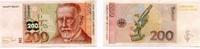 200 MARK 02.1.1996 DEUTSCHE BUNDESBANK -Serie AK-K 1/1-  285,00 EUR
