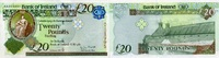 20 POUNDS 01.1.2013 BANK OF IRELAND - Northern Ireland - unc/kassenfrisch  57,00 EUR  +  6,50 EUR shipping