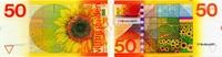 50 Gulden 04.1.1982 Niederlande P.96 unc/kassenfrisch  140,00 EUR  +  6,50 EUR shipping