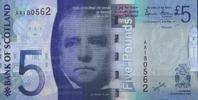 5 Pounds 2007 Bank of Scotland Pick 124 unc/kassenfrisch  15,00 EUR  +  6,50 EUR shipping