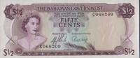 1/2 Dollar 1965 Bahamas Pick 17a unc  55,00 EUR