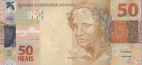 50 Reais 2010/2012 Brasilien Pick 256b Serie C. unc/kassenfrisch  35,00 EUR  +  6,50 EUR shipping