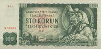 100 Korun 1961 Tschechoslowakei Pick 91b unc/kassenfrisch  16,00 EUR  +  6,50 EUR shipping