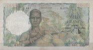 1.000 Francs 19.12.1952 French-Westafrika  3  128,00 EUR  +  6,50 EUR shipping