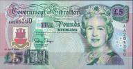5 Pounds 1995 Gibraltar Pick 25a unc  24,00 EUR